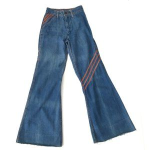 Vintage 70s Faded Glory Bell Bottom Jeans Hippie